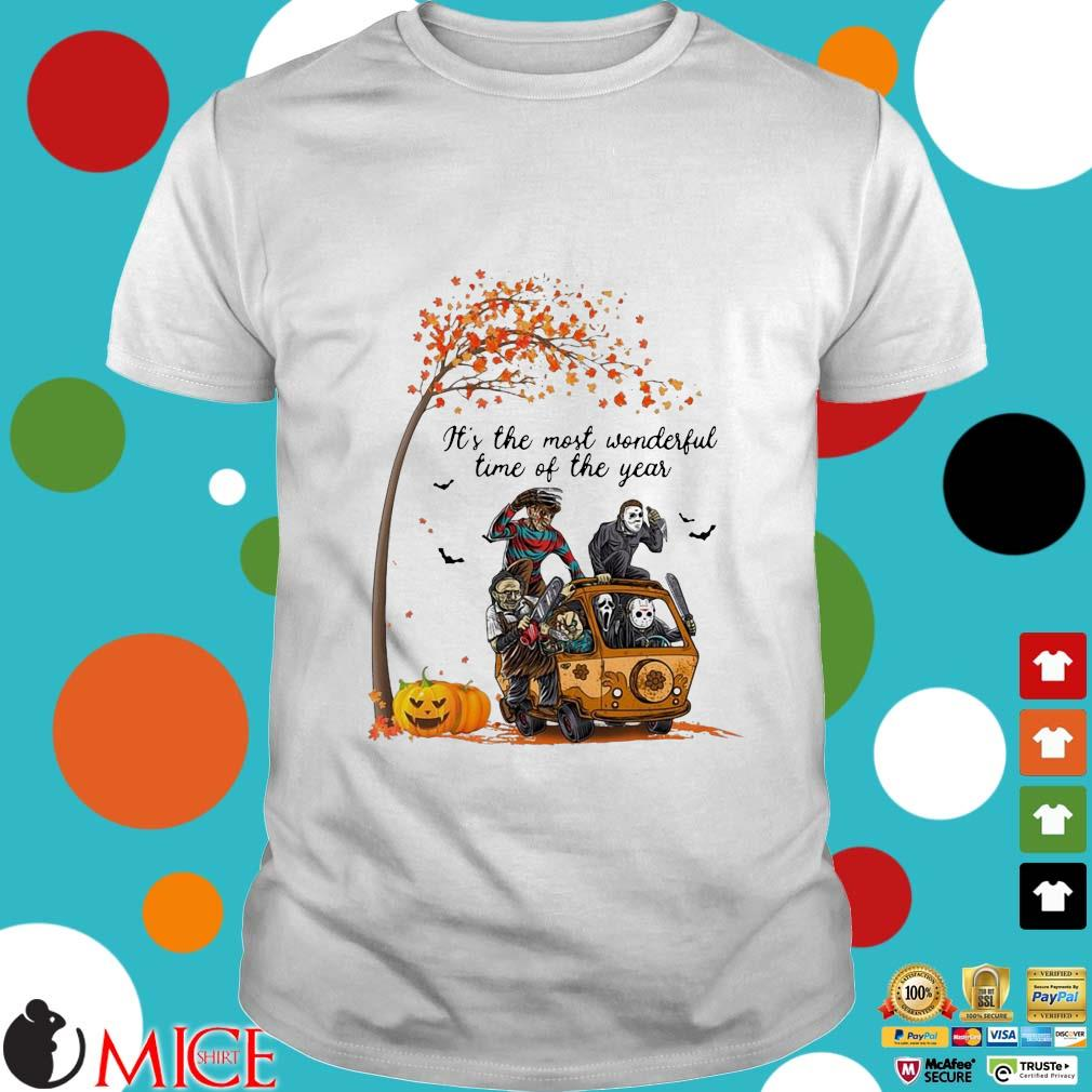 Horror character It's the most wonderful time of the year Halloween T-shirt