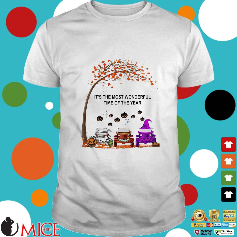 Jeep is the most wonderful time of the year Halloween shirt