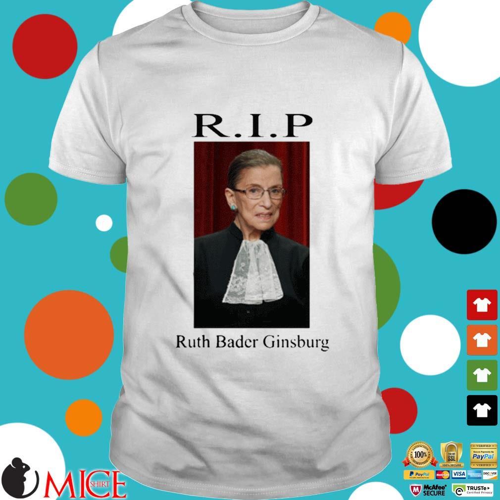 Official Rip Ruth Bader Ginsburg shirt