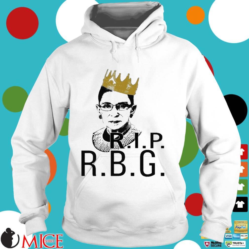 Rip RBG Ruth Bader Ginsburg s Hoodie trang