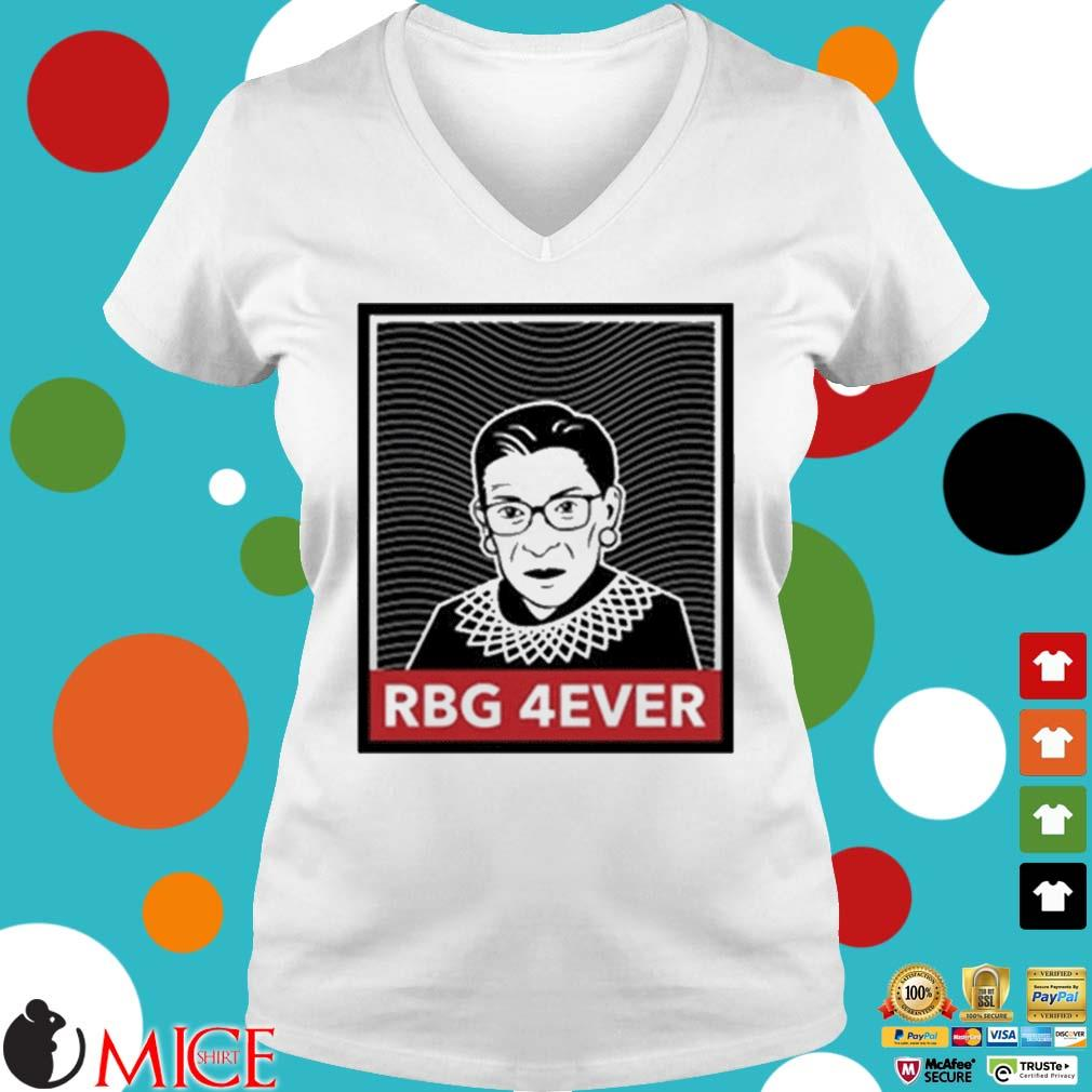 RIP Ruth Bader Ginsburg forever s Ladies V-Neck trangs