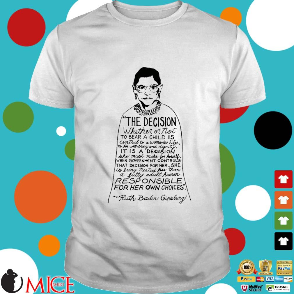 RIP Ruth Bader Ginsburg shirt