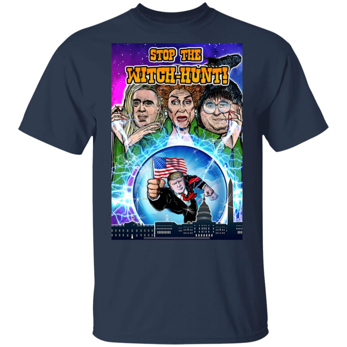 Stop The Witch-Hunt Trump 2020 Shirt T-Shirt