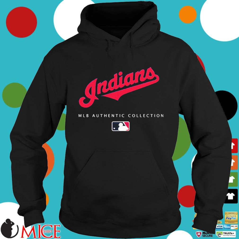 Cleveland Indians MLB authentic collection s Hoodie dend