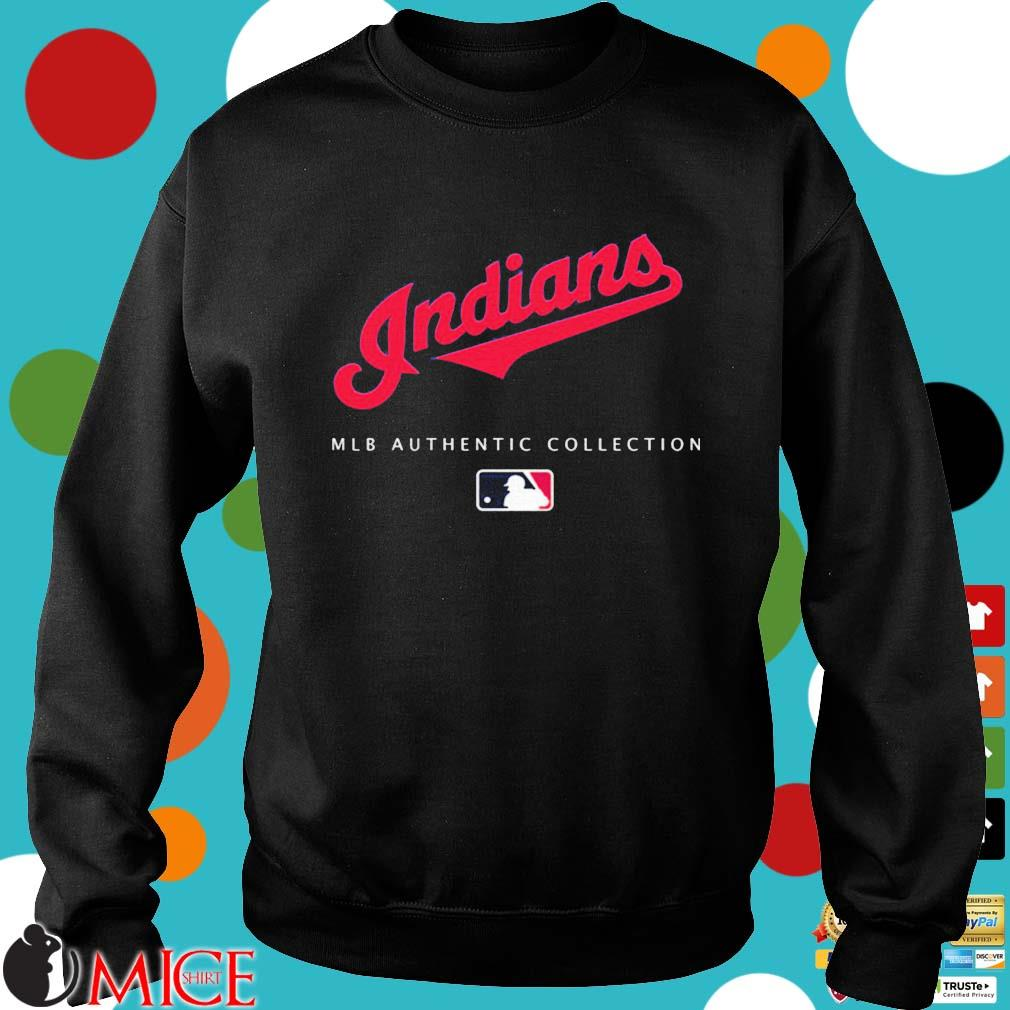Cleveland Indians MLB authentic collection s Sweater den