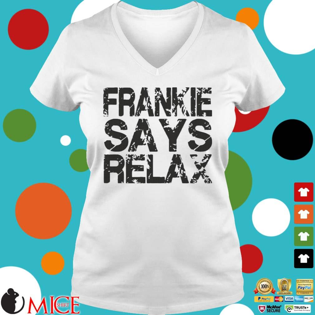 Frankie says relax s Ladies V-Neck trangs