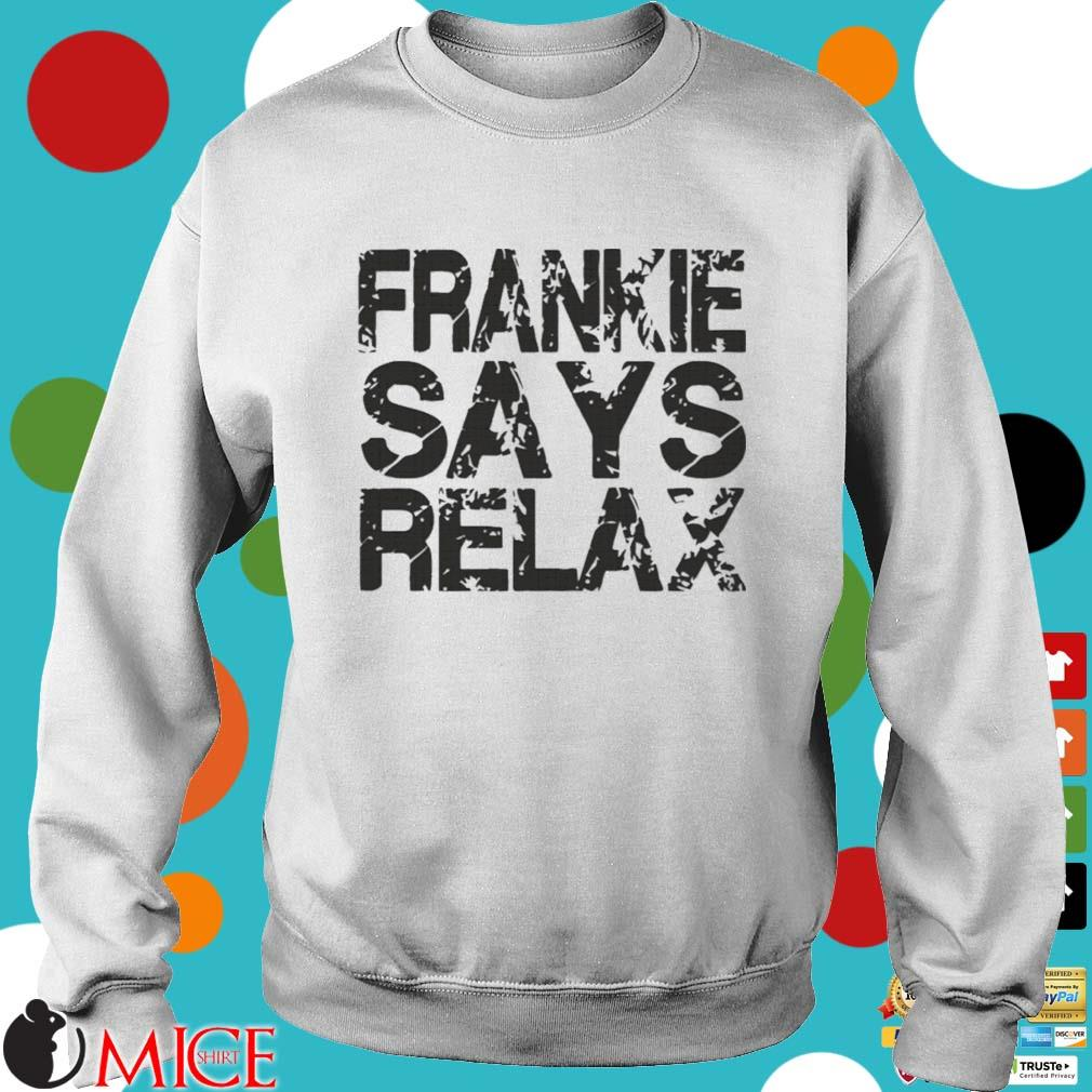 Frankie says relax s Sweater trang