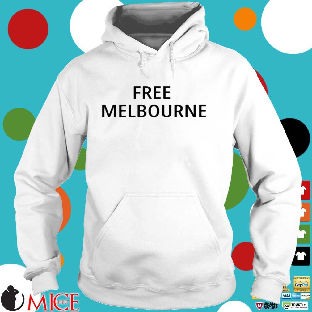 Free Melbourne Shirt Hoodie trang