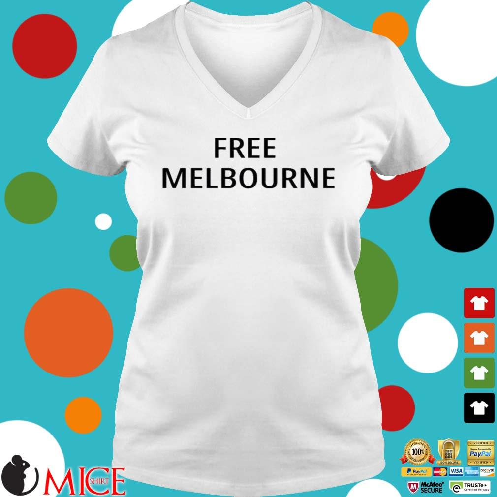 Free Melbourne Shirt Ladies V-Neck trangs