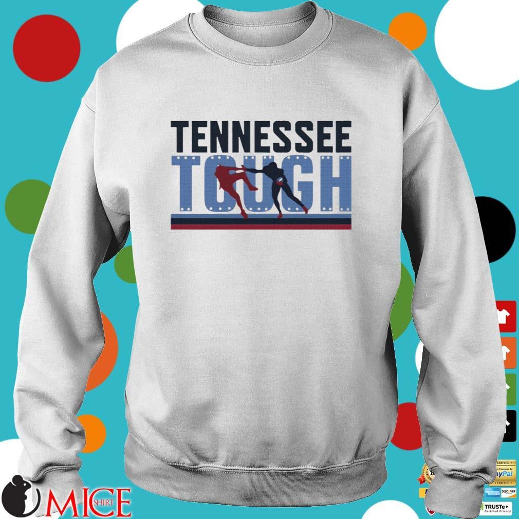 Tennessee Tough Nashville Football Shirt Sweater trang
