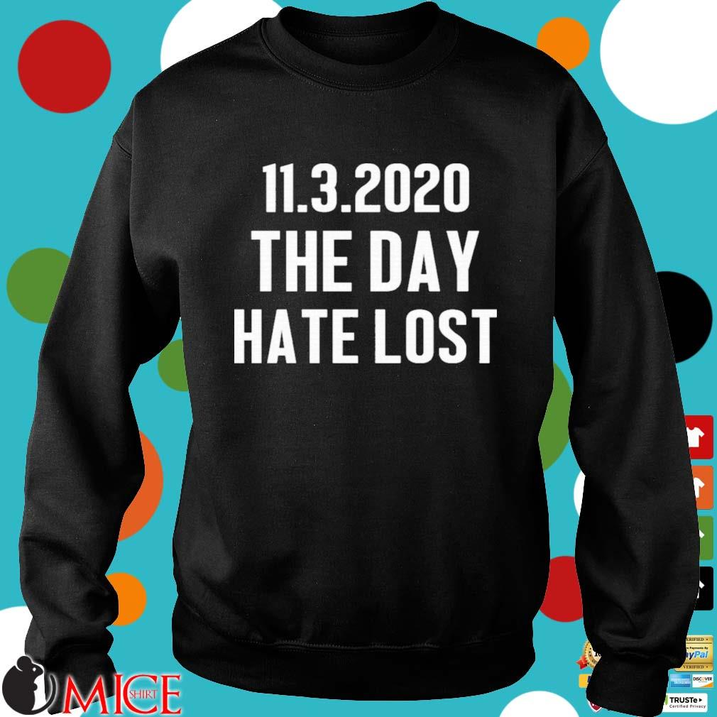 11 03 2020 The Day Hate Lost Shirt