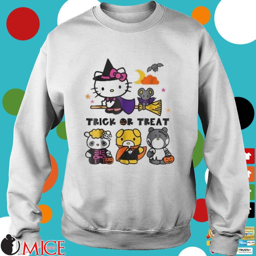 Hello Kitty And Friends Witch Trick Or Treat Halloween Shirt