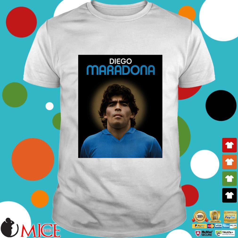 Legend Argentina Diego Maradona s Shirt trắng