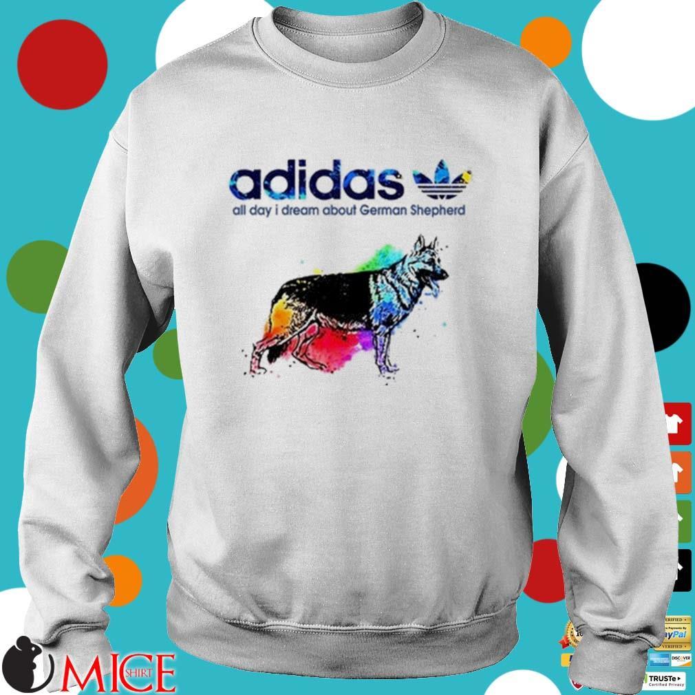 Preferencia profundo Casi muerto  LGBT Adidas all day I dream about German Shepherd shirt - Miceshirt