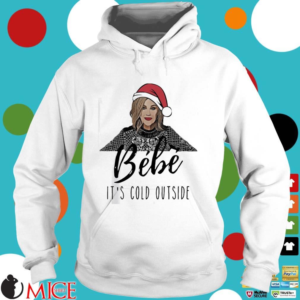 Moira Rose Bebe It's Cold Outside Christmas Sweater Hoodie trang
