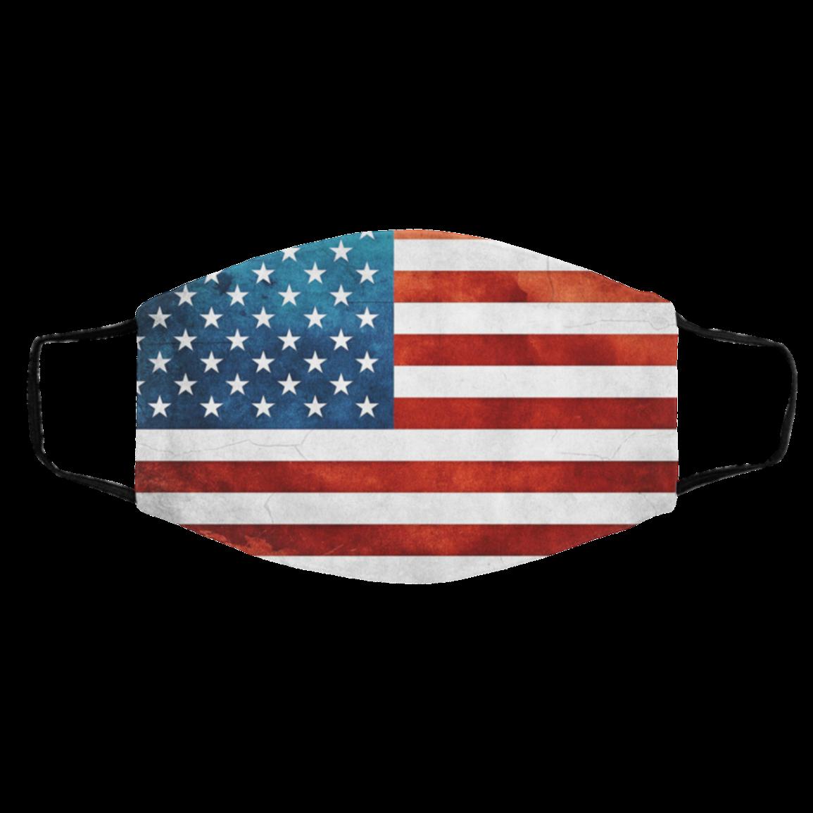 2020 AMER-ICAN FLAG GRU-NGE BACK-GROUND CLOTH FACE MASKS