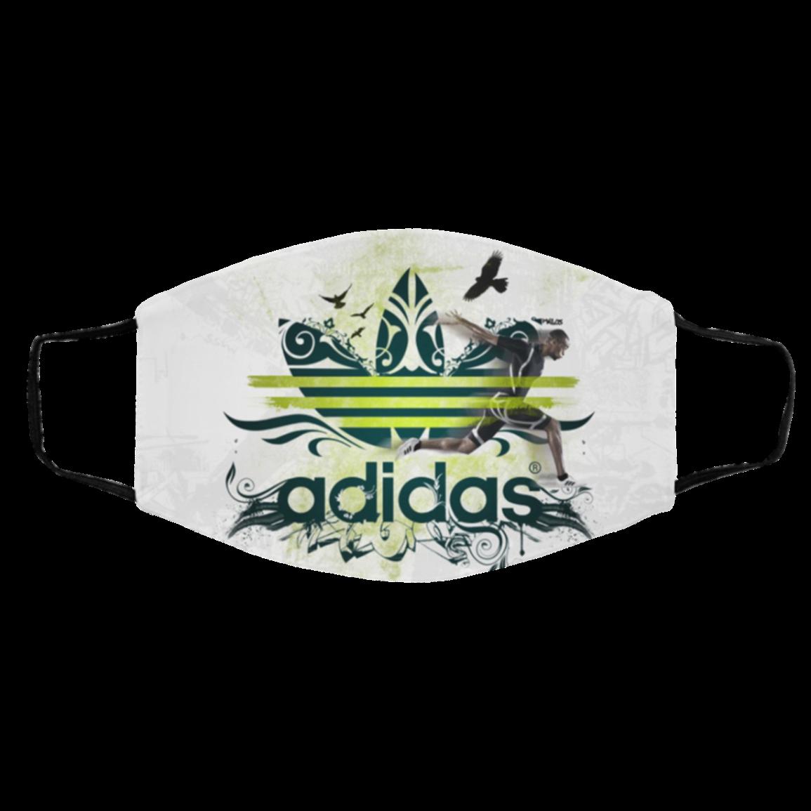 Ad-id-as Cloth Face Mask – ad-idas Logo Face Mask