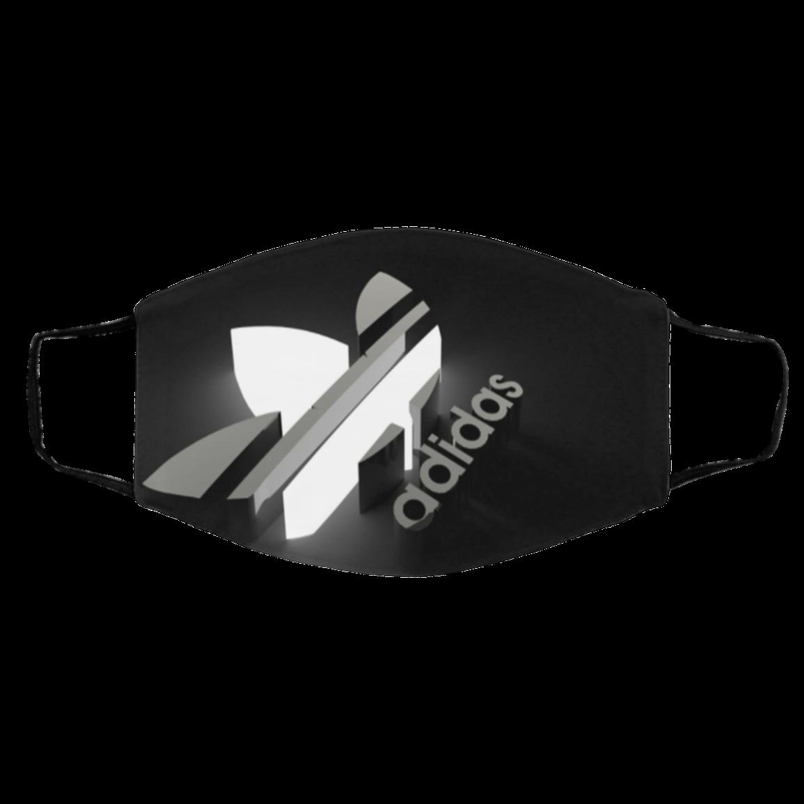 Ad-idas Clo-th Face Mask – A-di-das Logo Face Mask US