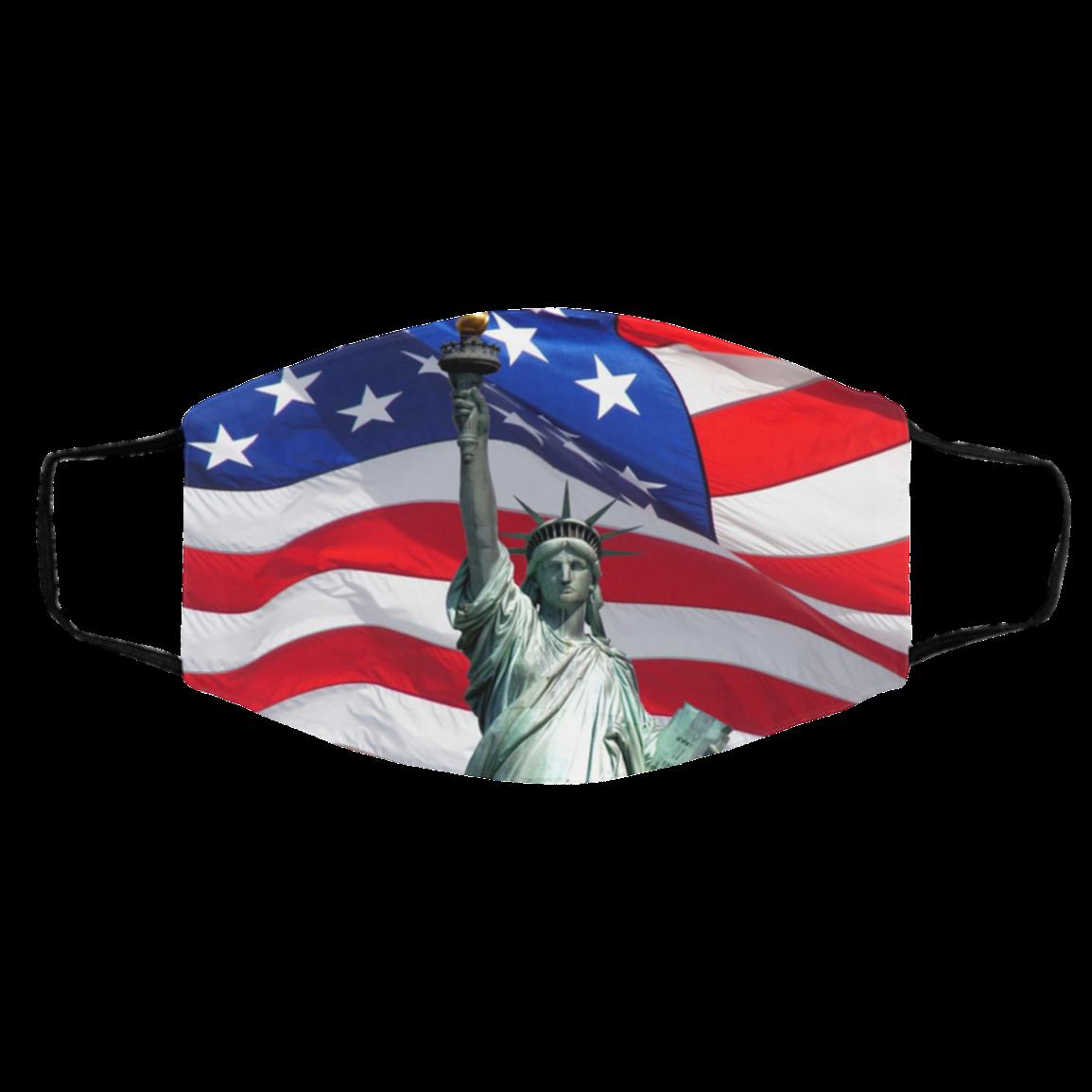 -Sym-bols of Amer-ica Face Mask