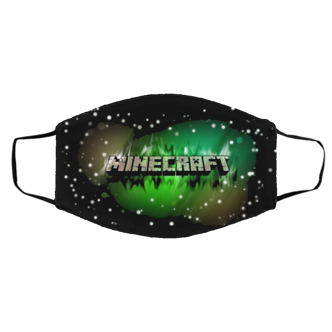 Mine-cra-ft Face Mask – Logo Minecraft 2020 – Limited Edition