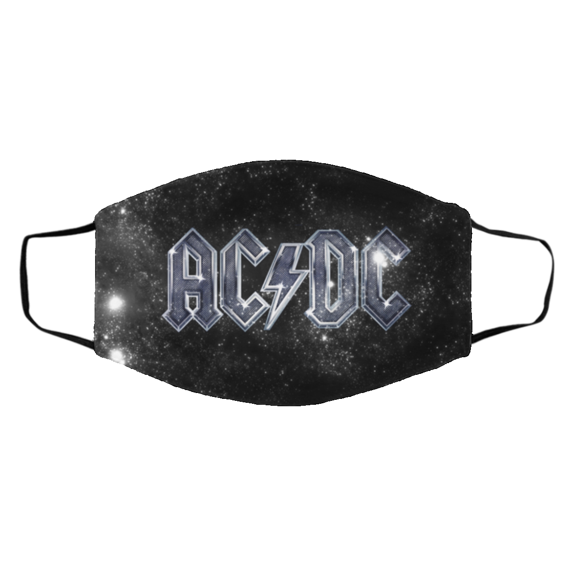 A-C-D-C Masks – Logo AC-DC Cloth Face Mask Cover