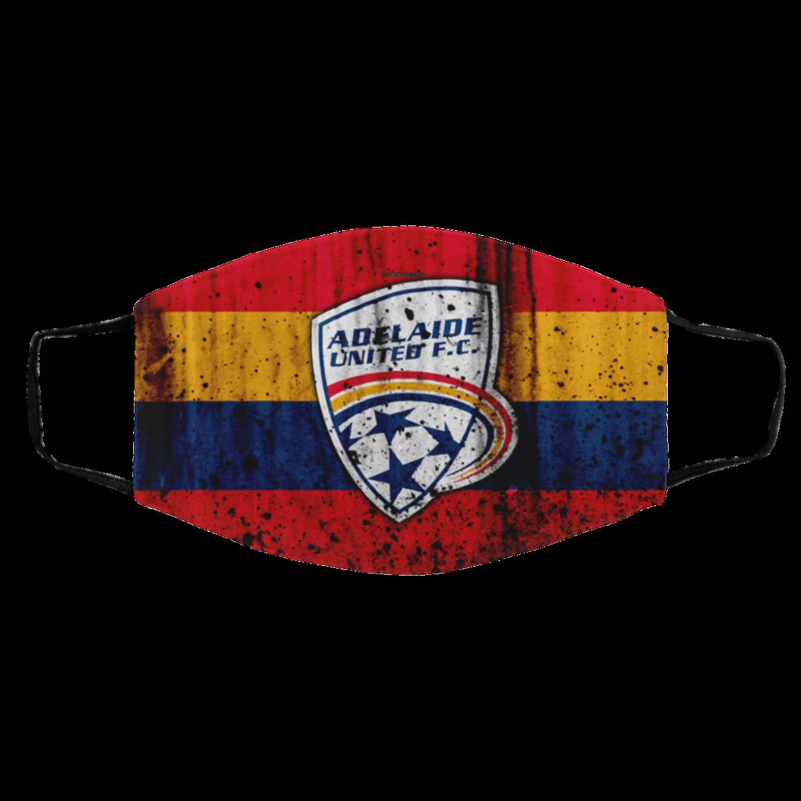 Adela-ide United Face Mask Flag Filter