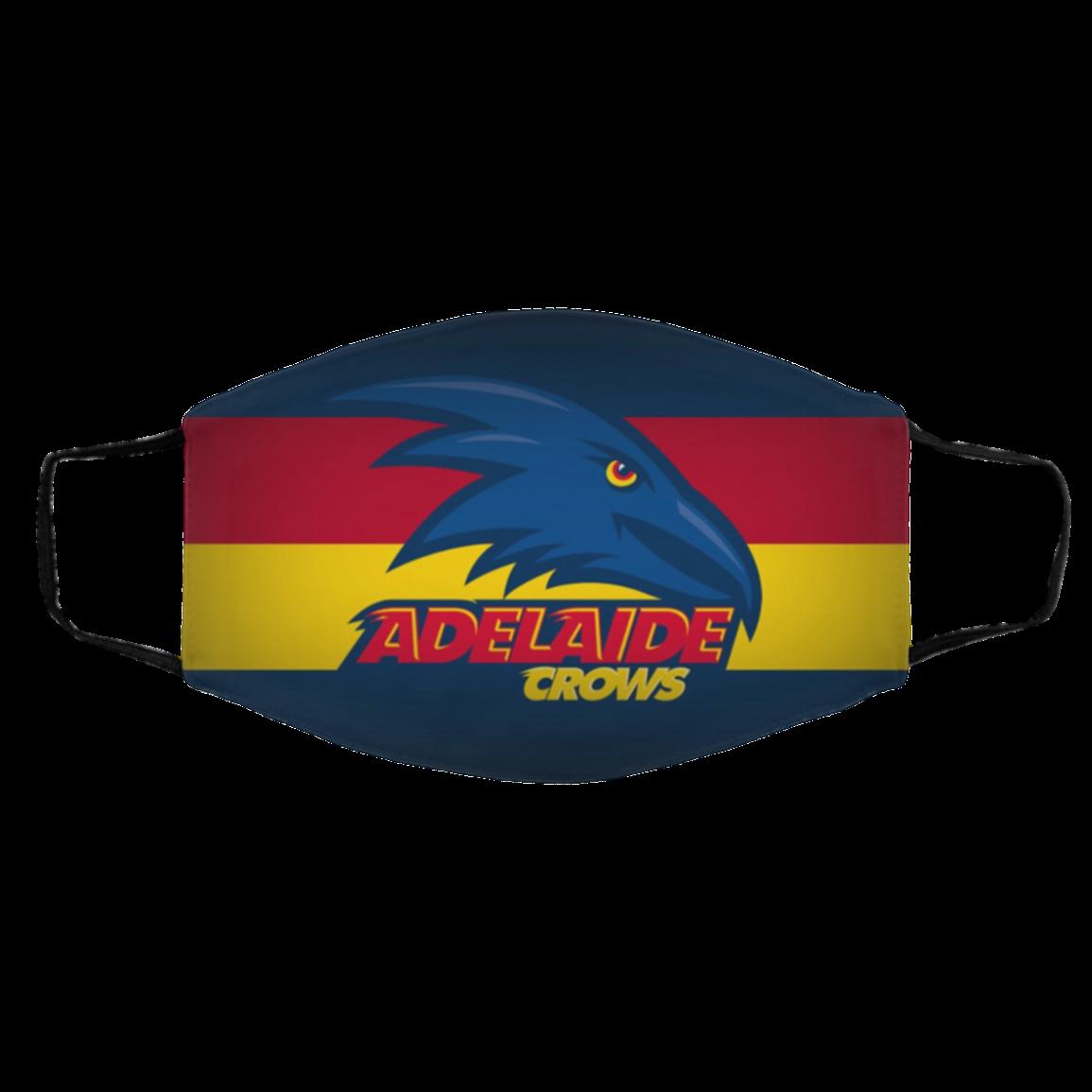 Ad-elaid-e Crows A-ust-ralian National Flag Zipped Design Face Mask