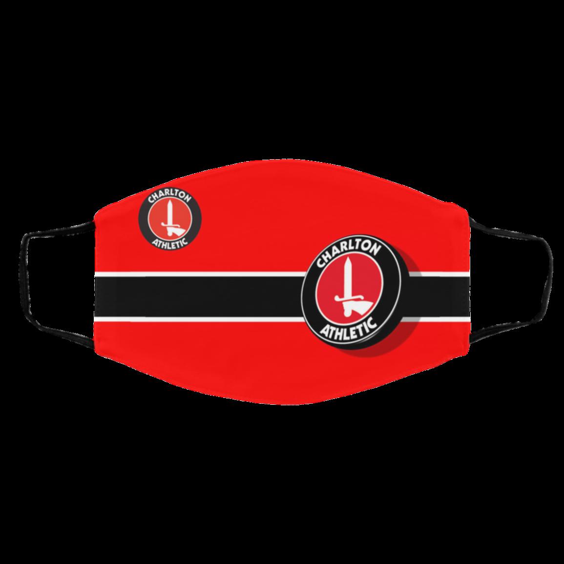 Un-ive-rsity Of Char-lton Athletic FC Face Masks