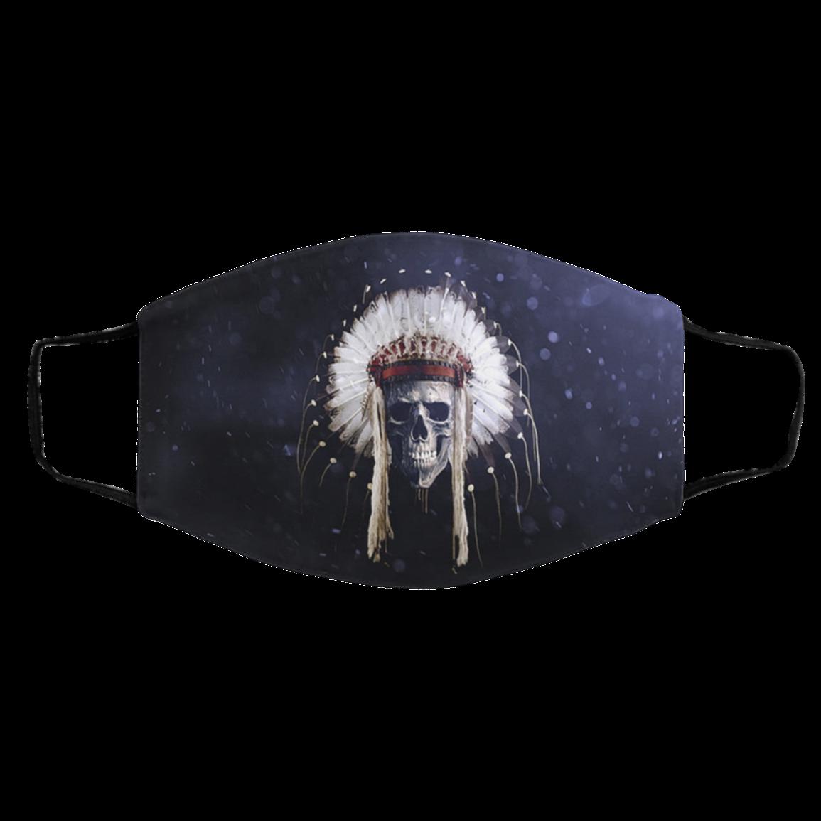 N-ati-ve Logo Skull Face Masks For Fans